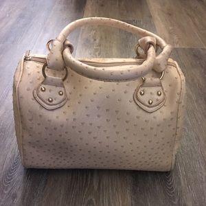 Handbags - Handbag, satchel - beige/nude textured